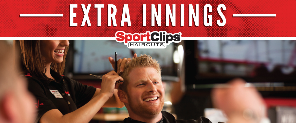 The Sport Clips Haircuts of La Plata  Extra Innings Offerings